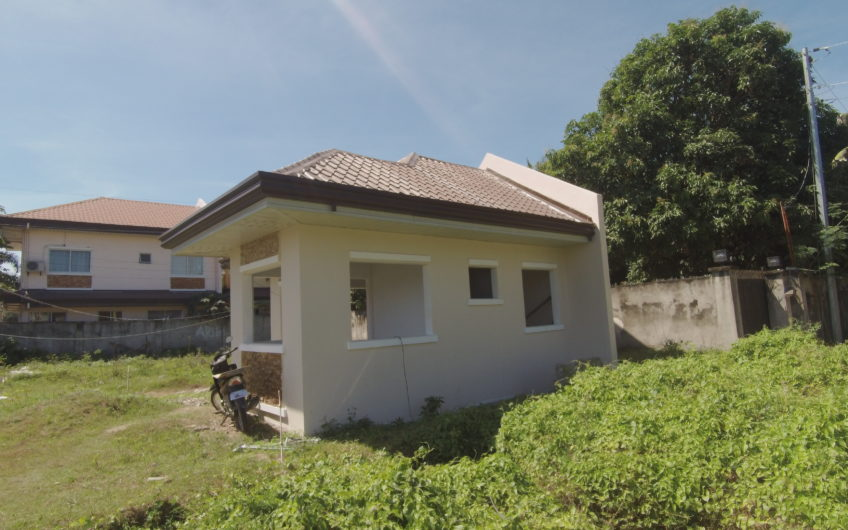 Ready for Occupancy House unit for Sale in Cadawinonan, Negros Oriental