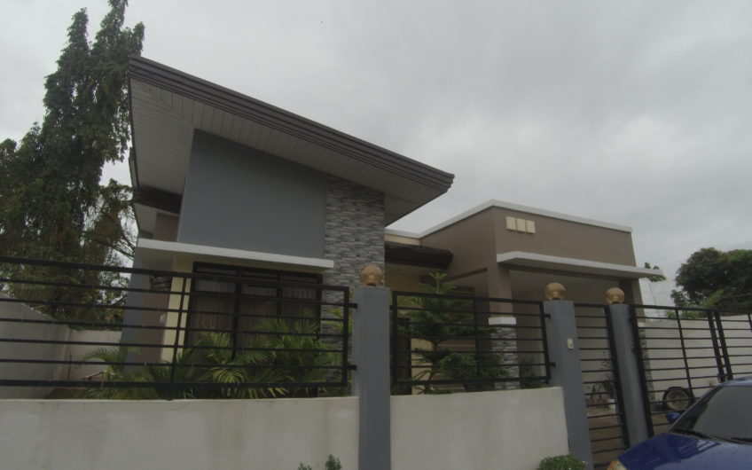 Modern House for sale in a Subdivision Area Dumaguete City, Negros Oriental