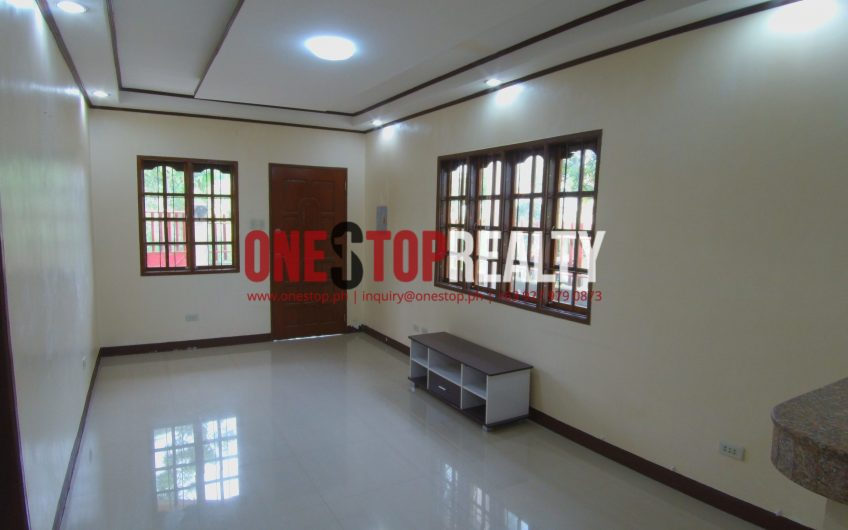 2 Bedroom House and Lot for Rent in Dumaguete City, Negros Oriental