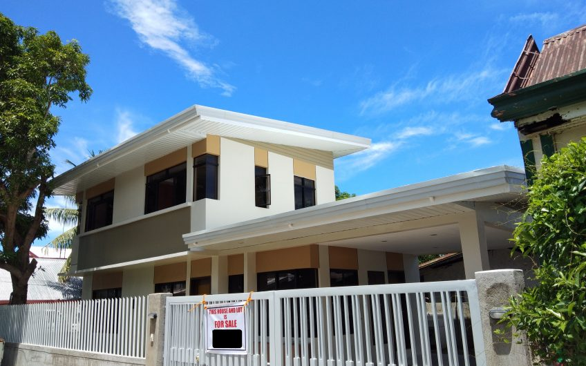Newly Constructed 3Bedroom House and Lot for sale in Sac-sac Bacong, Negros Oriental