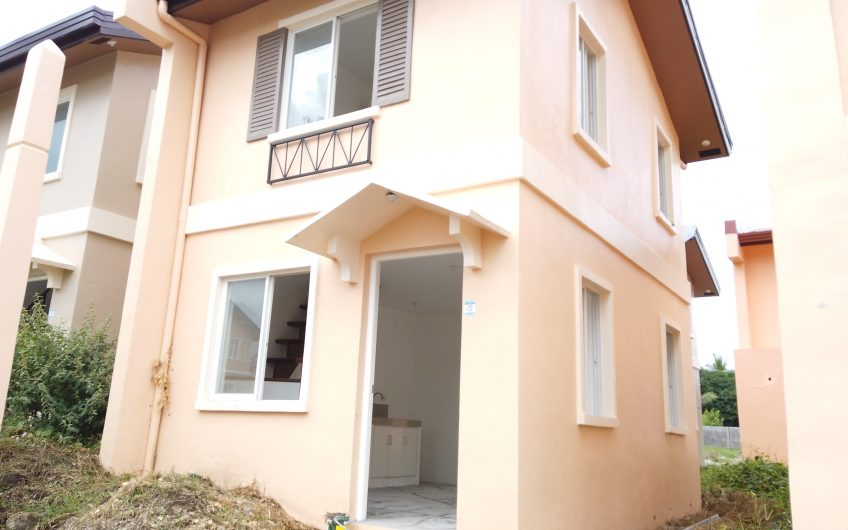 For Sale Mika Unit in Camella Homes Cantile, Dumaguete City Negros Oriental
